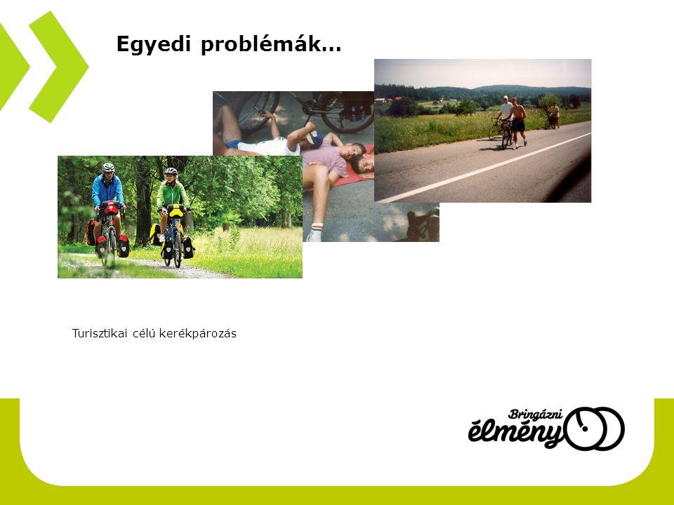 Egyedi problémák… Turisztikai célú kerékpározás