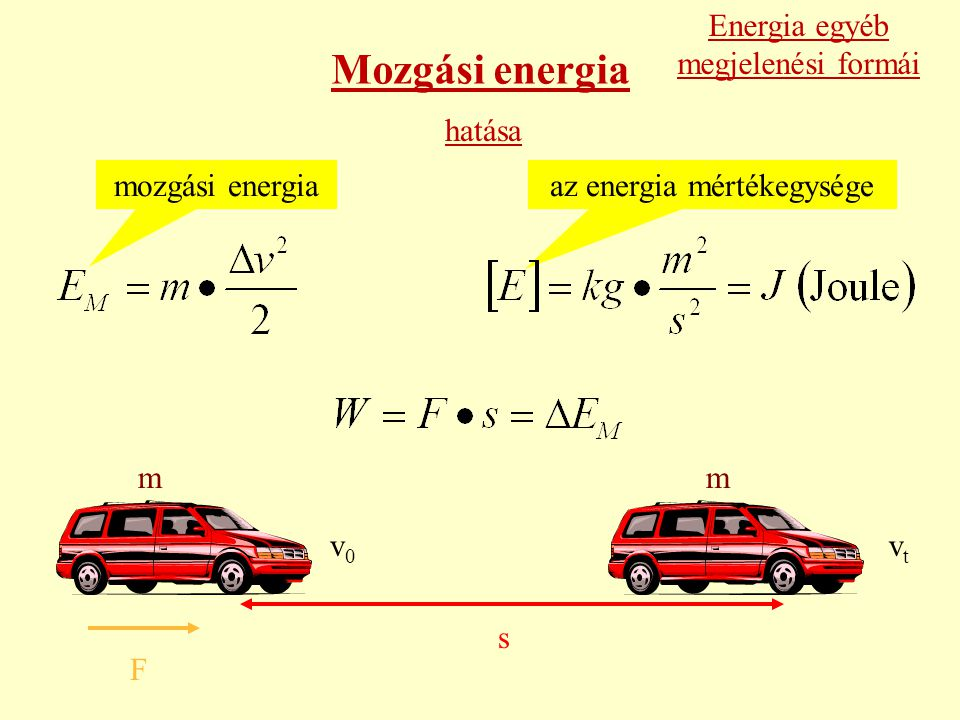 az energia mértékegysége