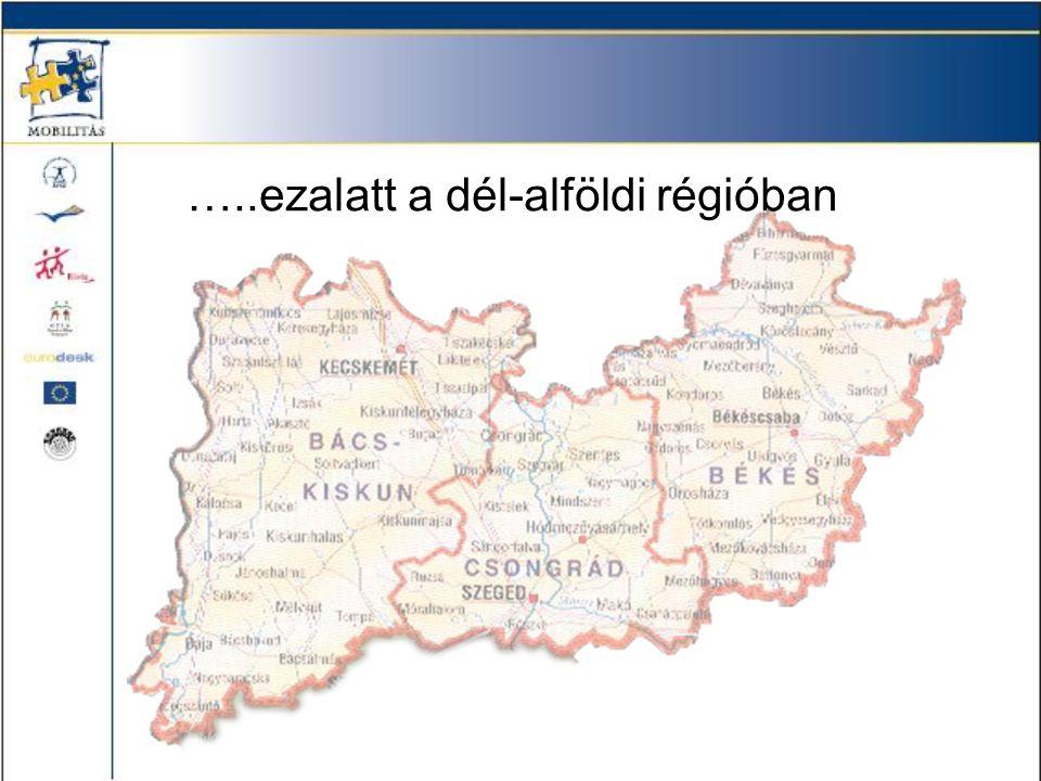 …..ezalatt a dél-alföldi régióban