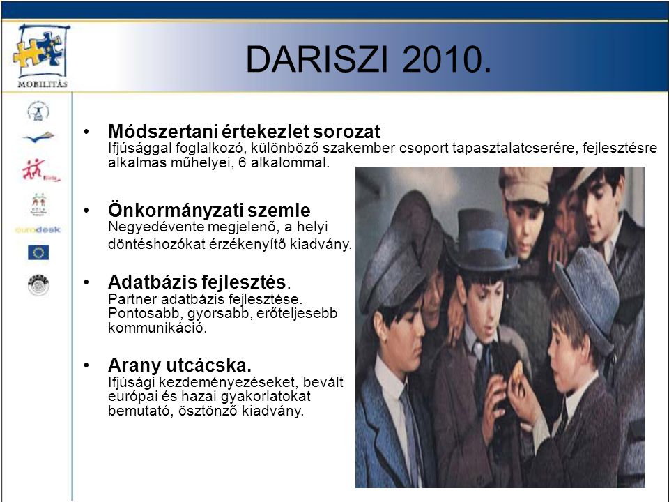 DARISZI 2010.