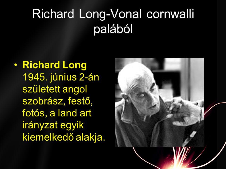 Richard Long-Vonal cornwalli palából