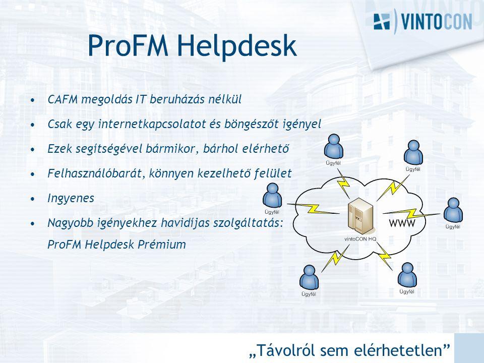 """ProFM Helpdesk """"Távolról sem elérhetetlen"""