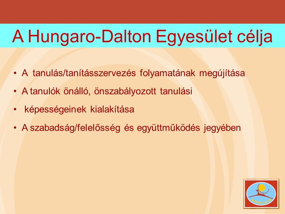 A Hungaro-Dalton Egyesület célja