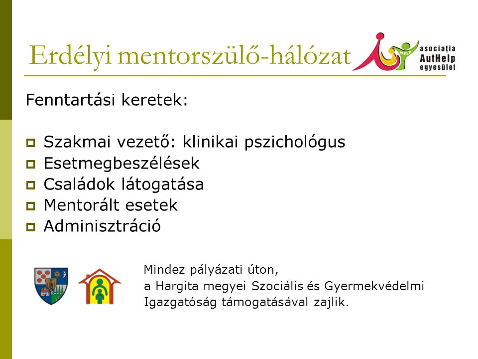 Erdélyi mentorszülő-hálózat