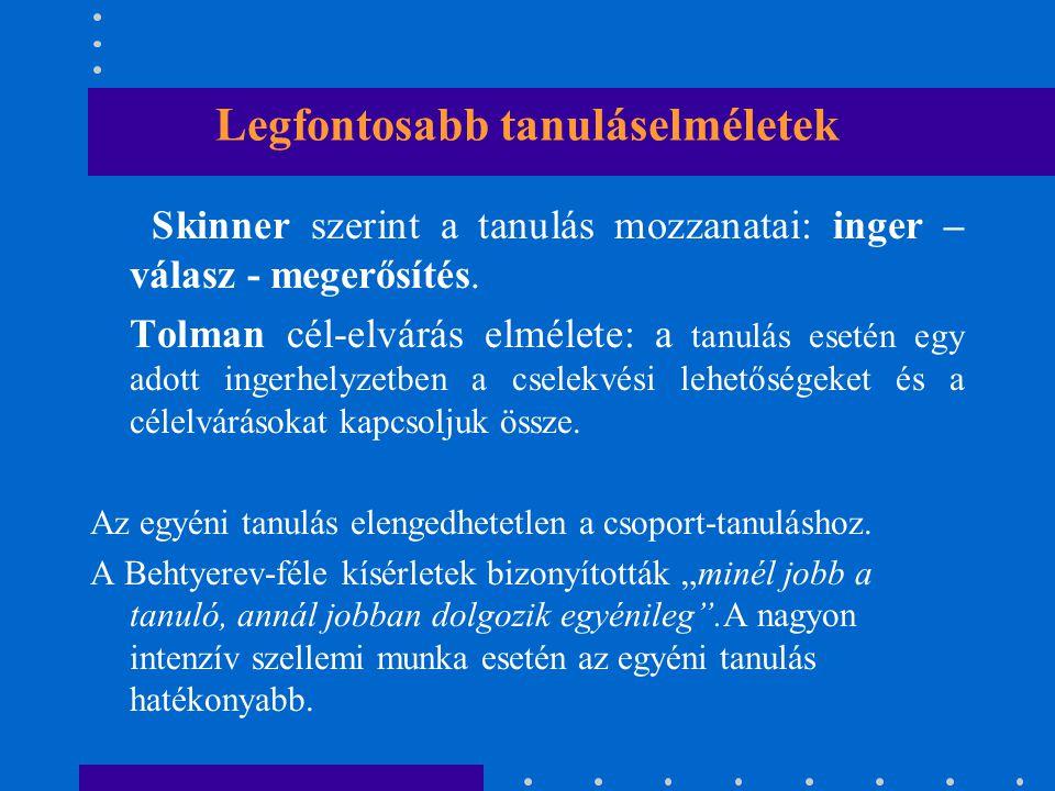 A szervezeti tanulás fogalma 1.