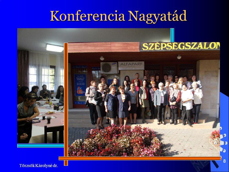 Konferencia Nagyatád Törzsök Károlyné dr.
