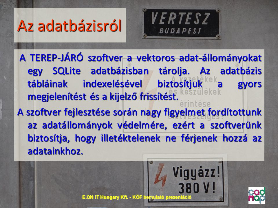 E.ON IT Hungary Kft. - KÖF bemutató prezentáció