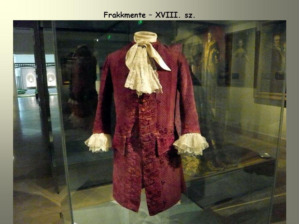 Frakkmente – XVIII. sz.