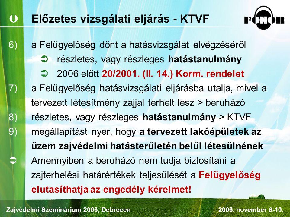 Előzetes vizsgálati eljárás - KTVF
