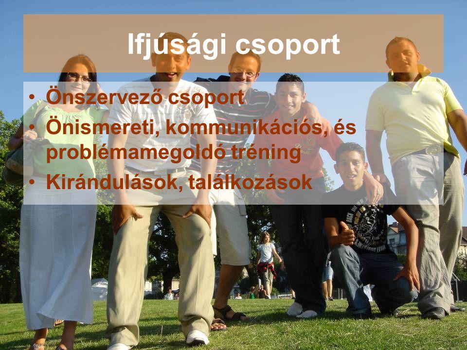 Ifjúsági csoport Önszervező csoport