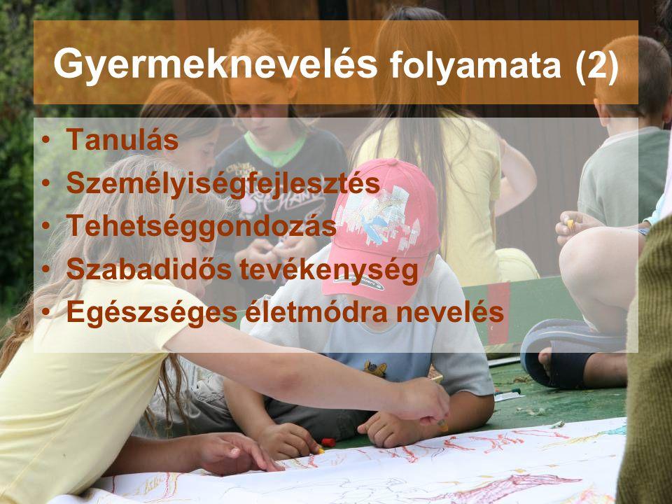 Gyermeknevelés folyamata (2)