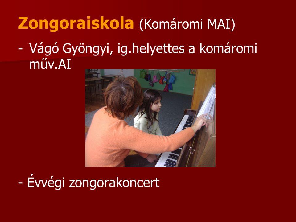 Zongoraiskola (Komáromi MAI)