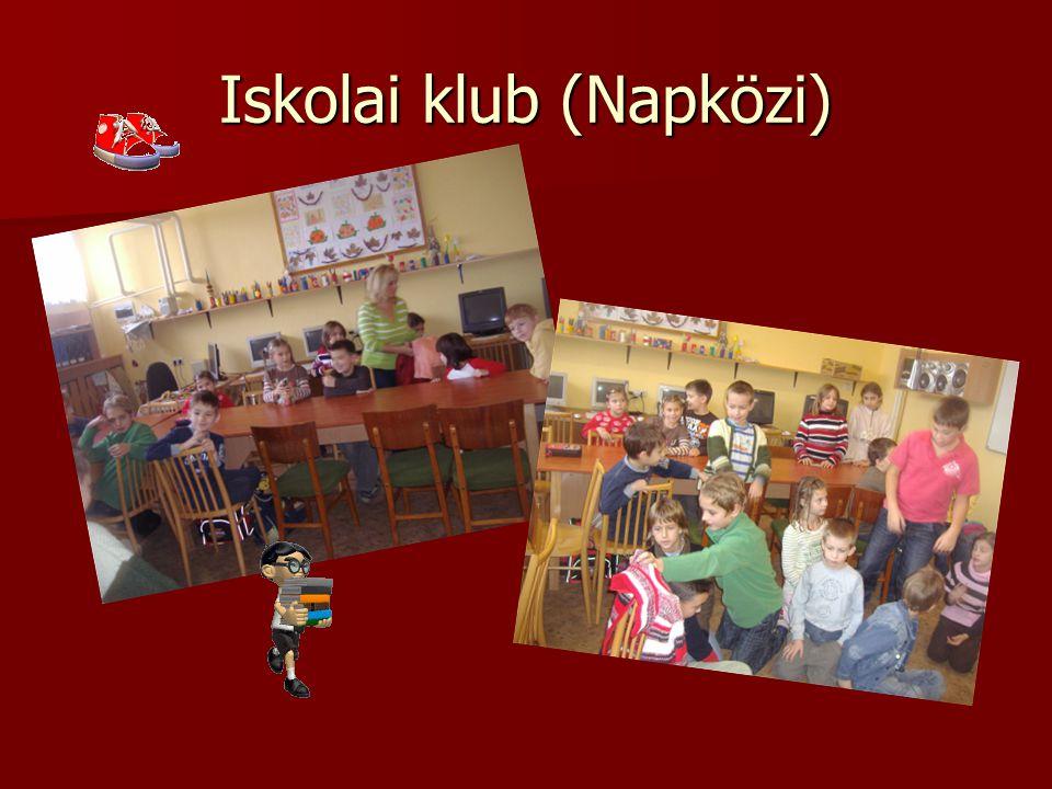 Iskolai klub (Napközi)