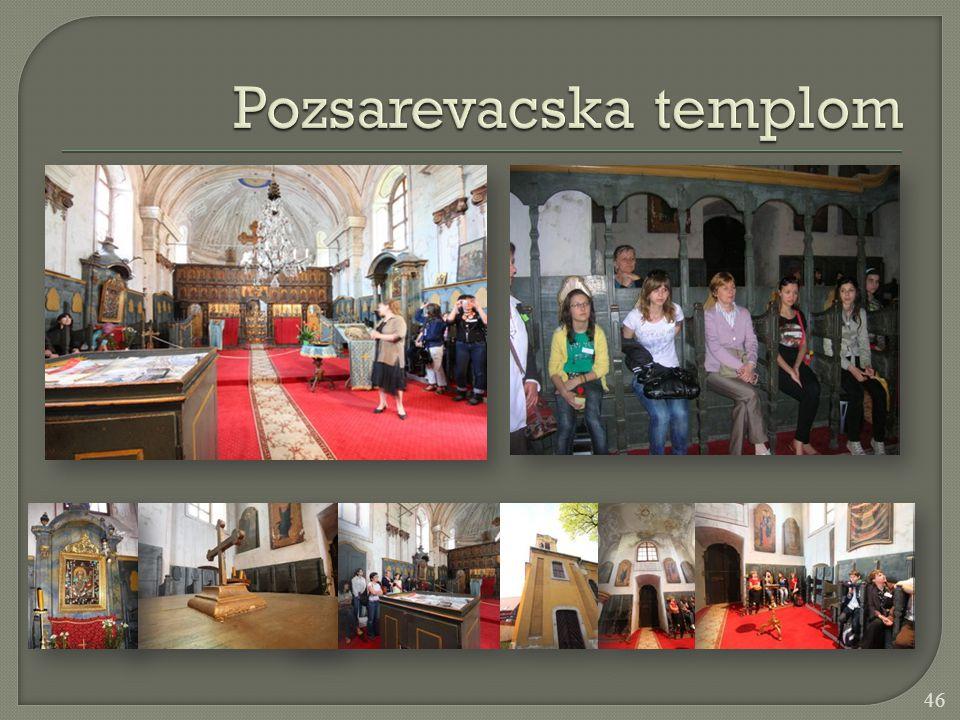 Pozsarevacska templom