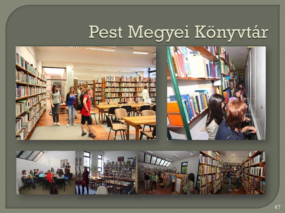 Pest Megyei Könyvtár