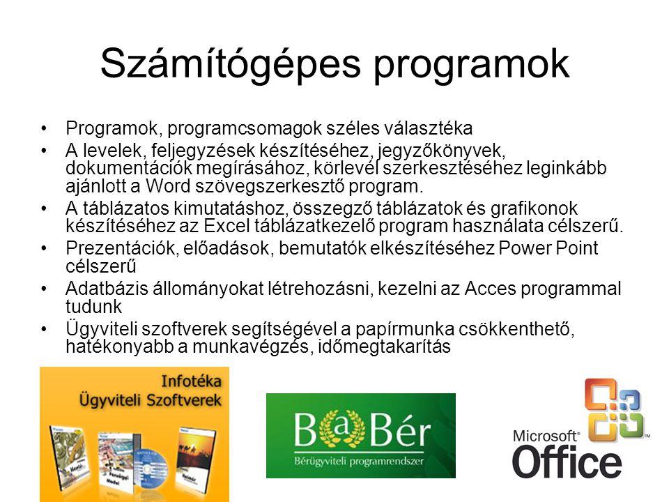 Számítógépes programok