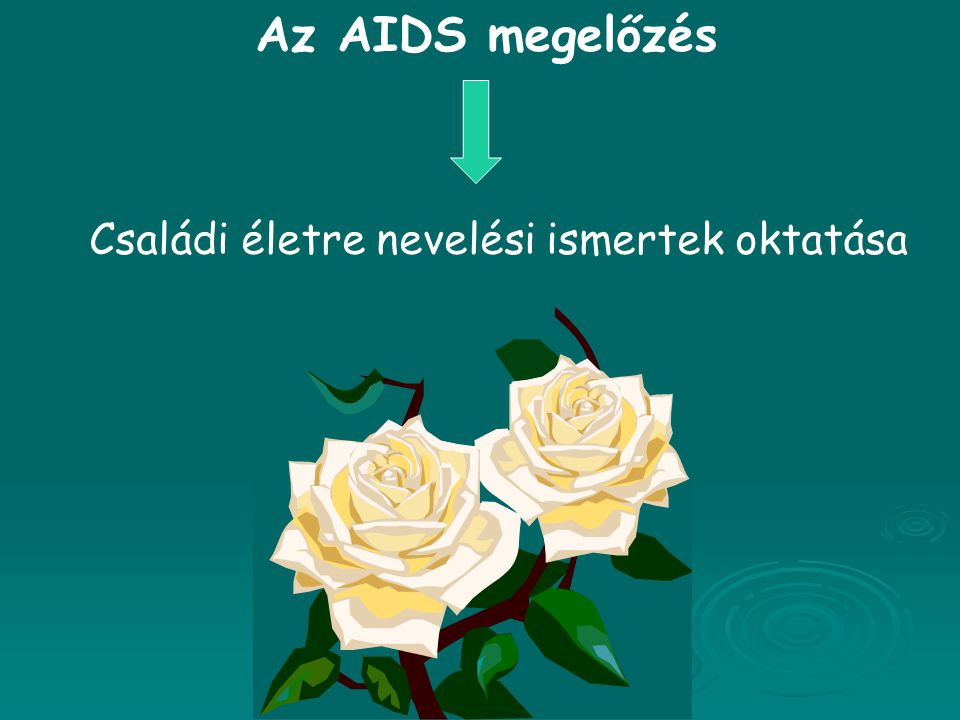 Az AIDS megelőzés Családi életre nevelési ismertek oktatása