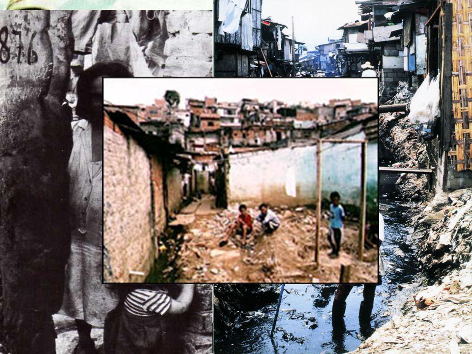 Városok Beáramló népesség Népszaporulat Eredmény: Nyomornegyedek