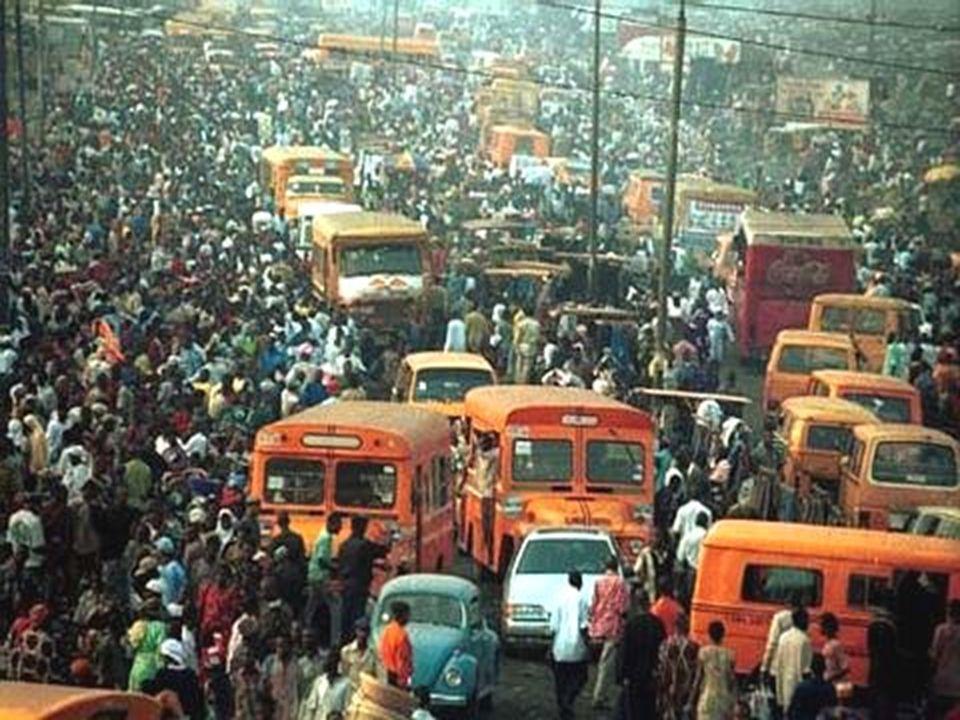 Városok Afrika: Nigériában Lagos városa Remény a nyomortelepen: