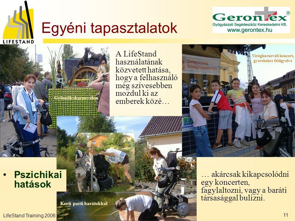 Virágkarneváli koncert, gyerekekre felügyelve Kerti parti barátokkal
