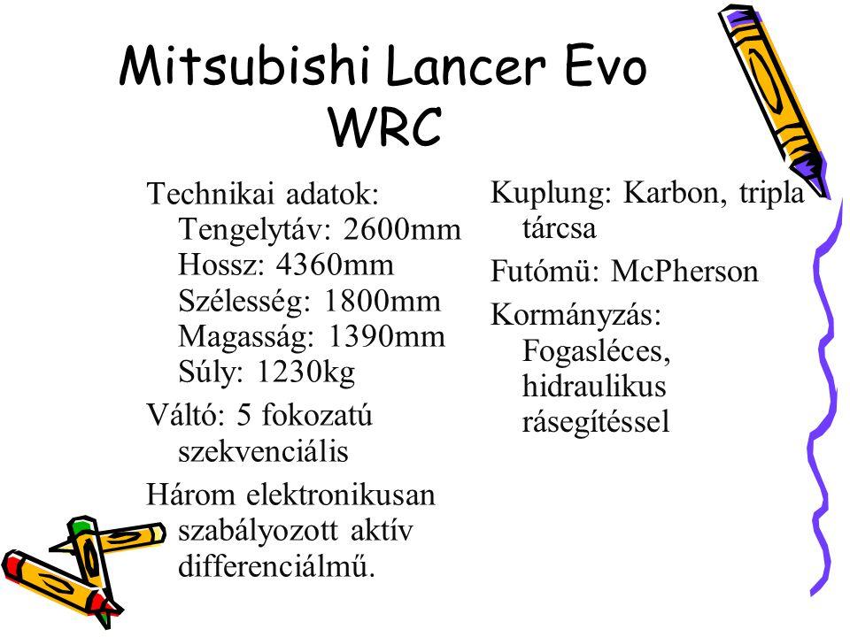 Mitsubishi Lancer Evo WRC