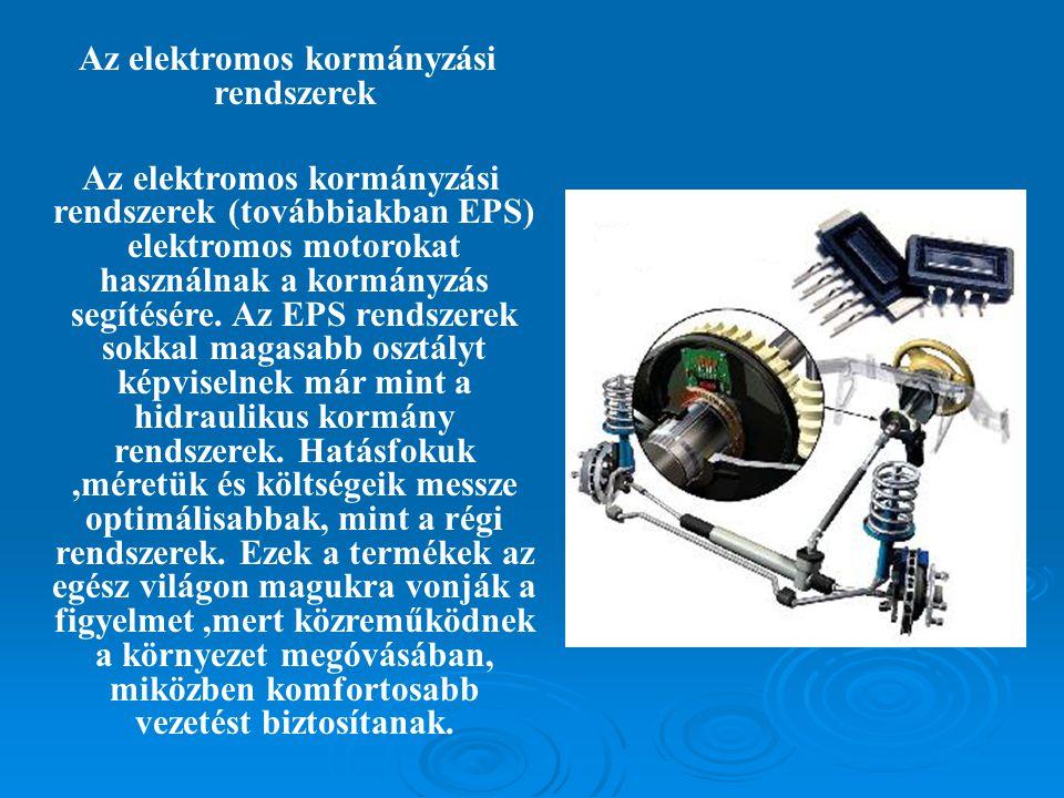 Az elektromos kormányzási rendszerek