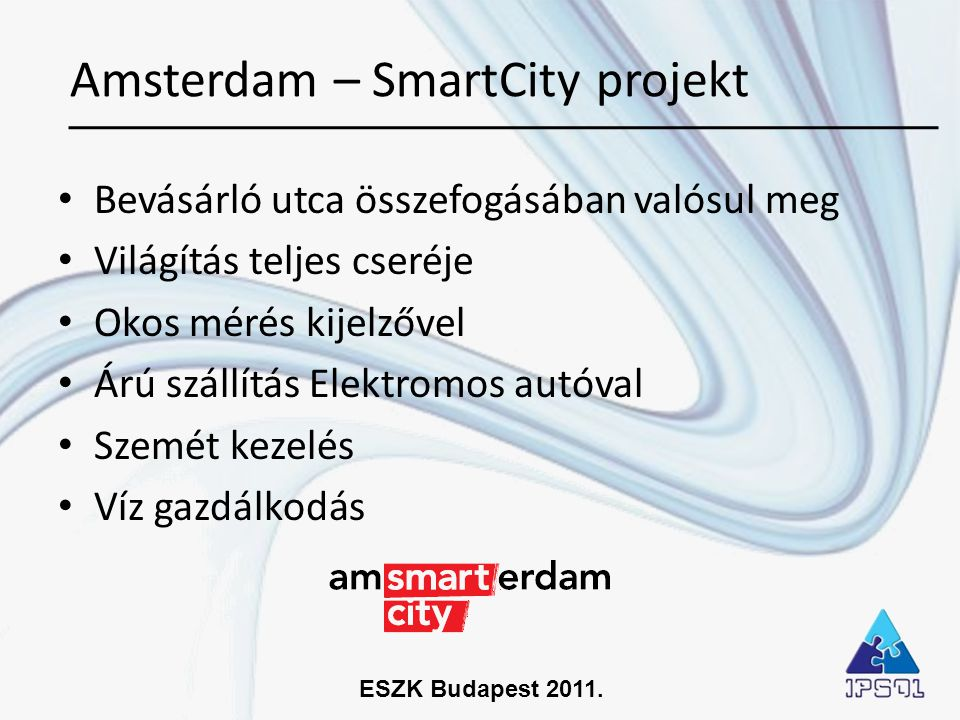 Amsterdam – SmartCity projekt
