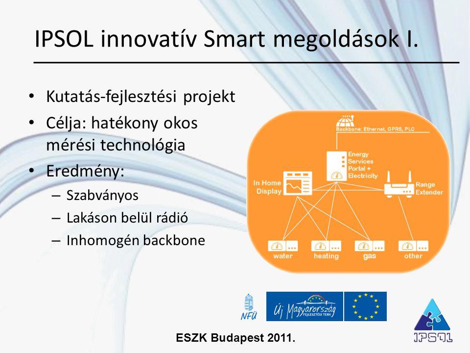 IPSOL innovatív Smart megoldások I.