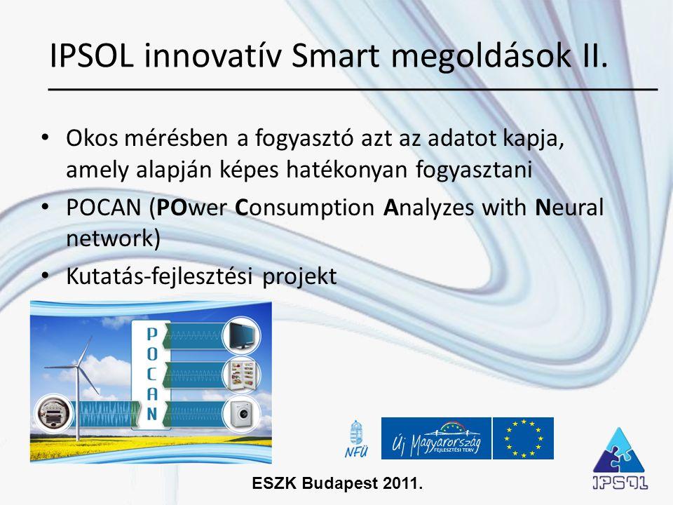 IPSOL innovatív Smart megoldások II.