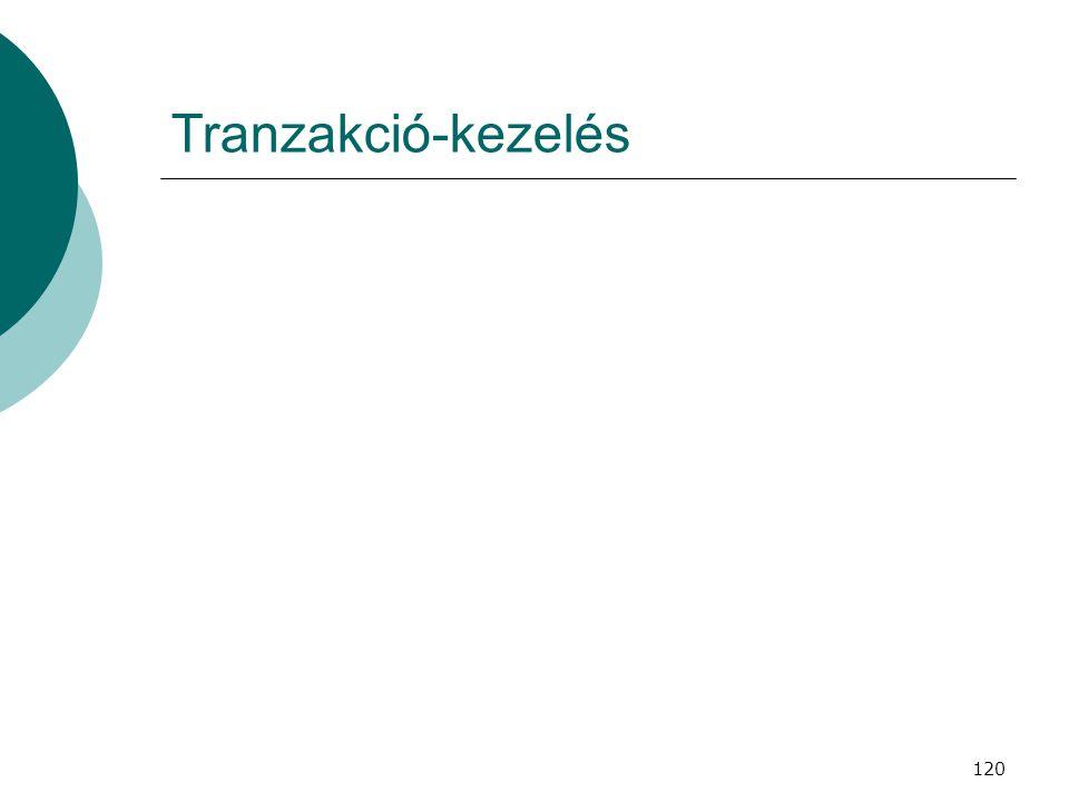 Tranzakció-kezelés