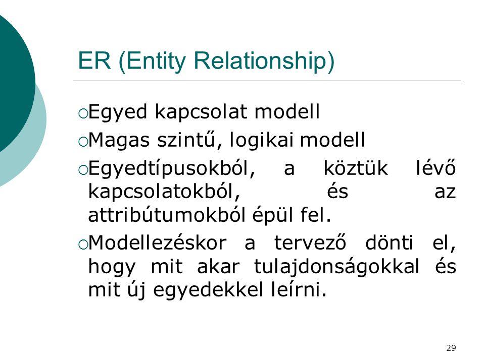 ER (Entity Relationship)