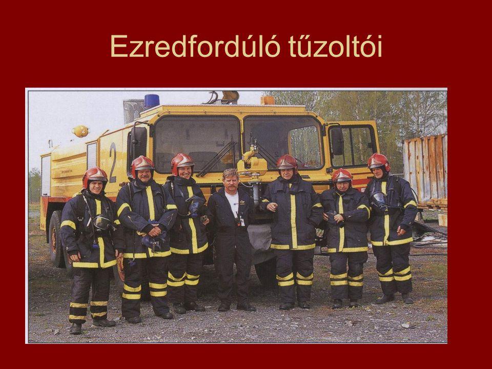 Ezredfordúló tűzoltói