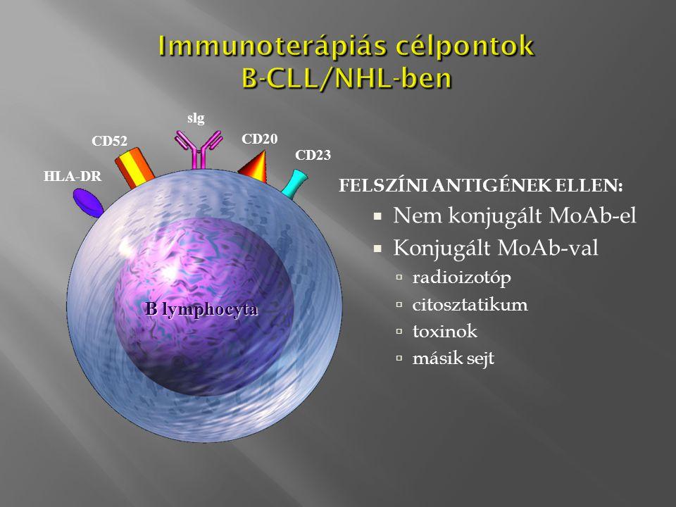 Immunoterápiás célpontok B-CLL/NHL-ben