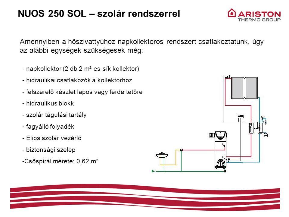 NUOS 250 SOL – szolár rendszerrel