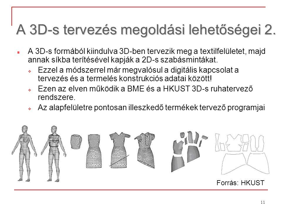 A 3D-s tervezés megoldási lehetőségei 2.