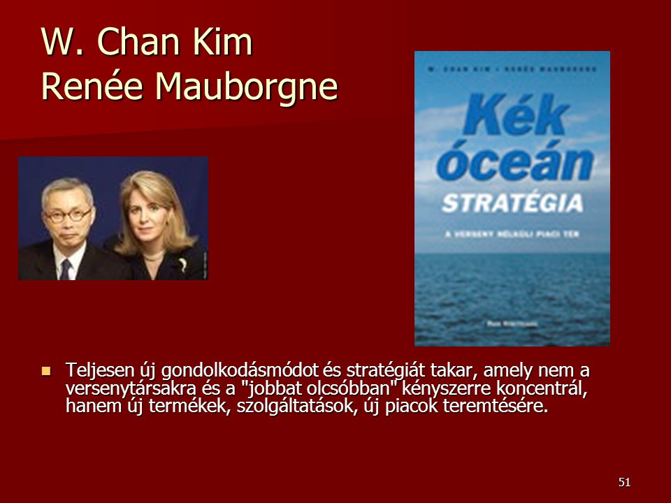 W. Chan Kim Renée Mauborgne