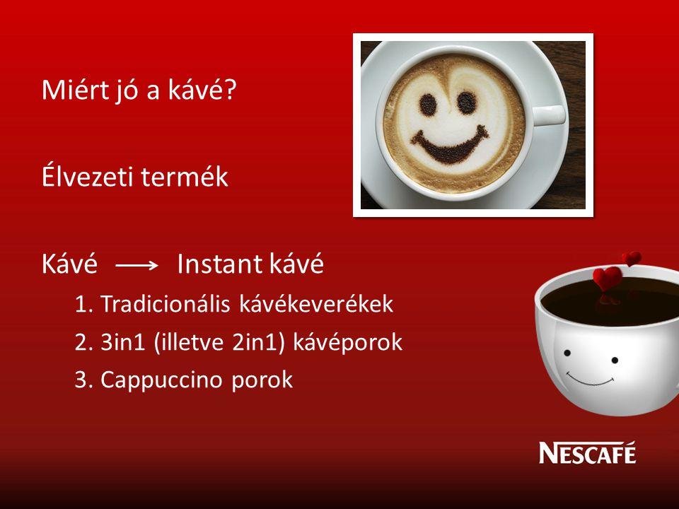 Miért jó a kávé Élvezeti termék Kávé Instant kávé