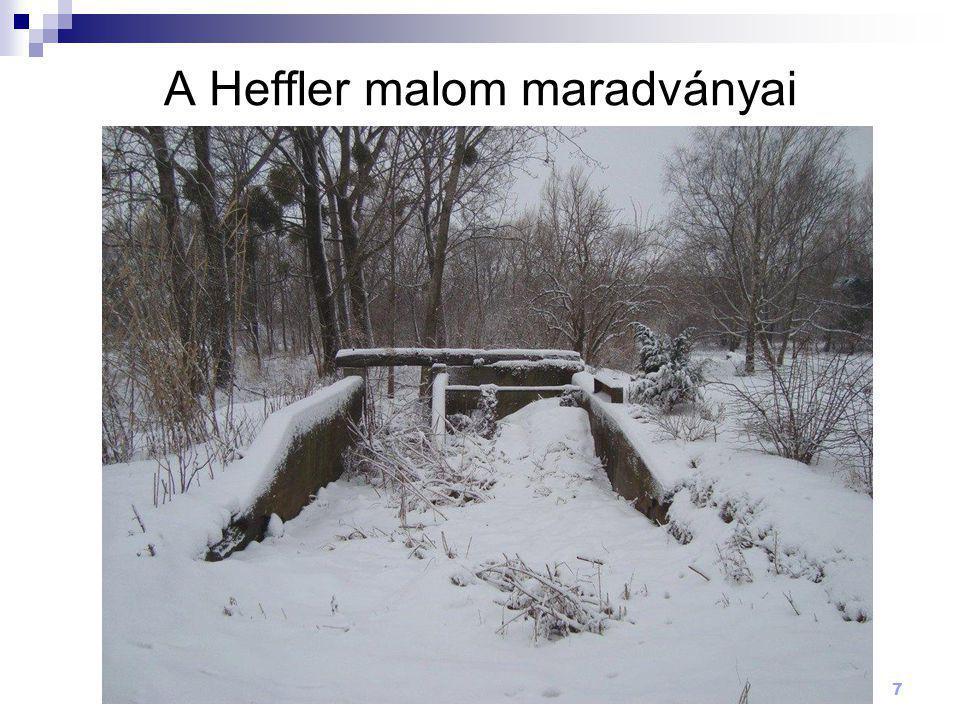A Heffler malom maradványai