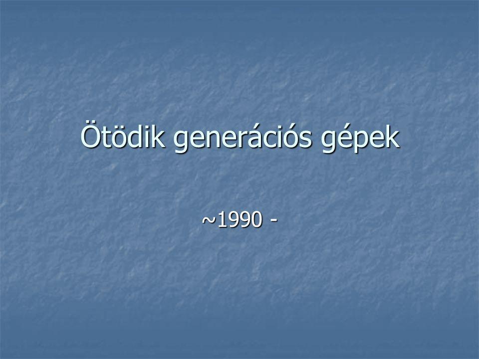 Ötödik generációs gépek