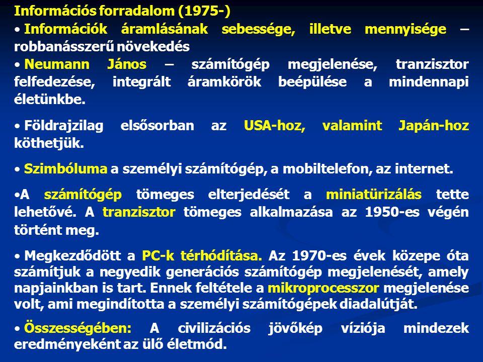 Információs forradalom (1975-)