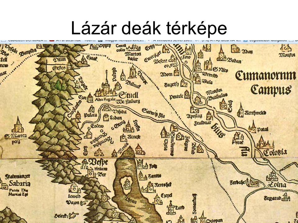 Lázár deák térképe