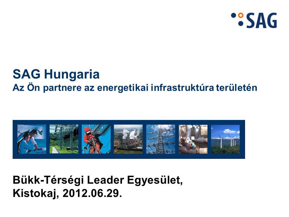 Az SAG Hungaria Kft. rövid bemutatása