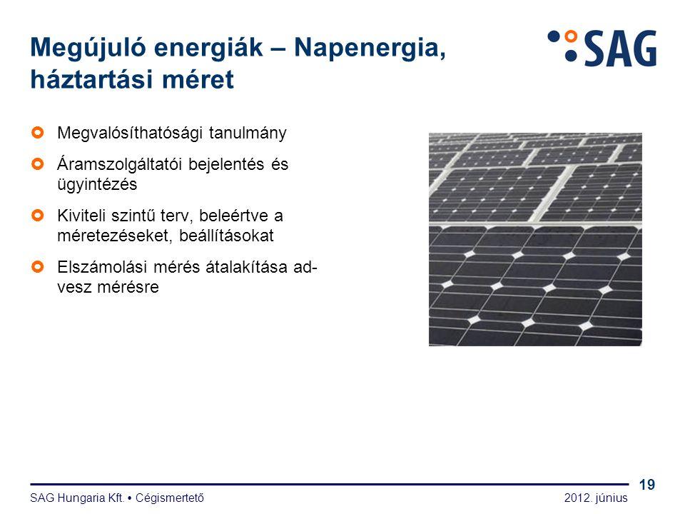 Megújuló energiák – Napenergia, kereskedelmi méret
