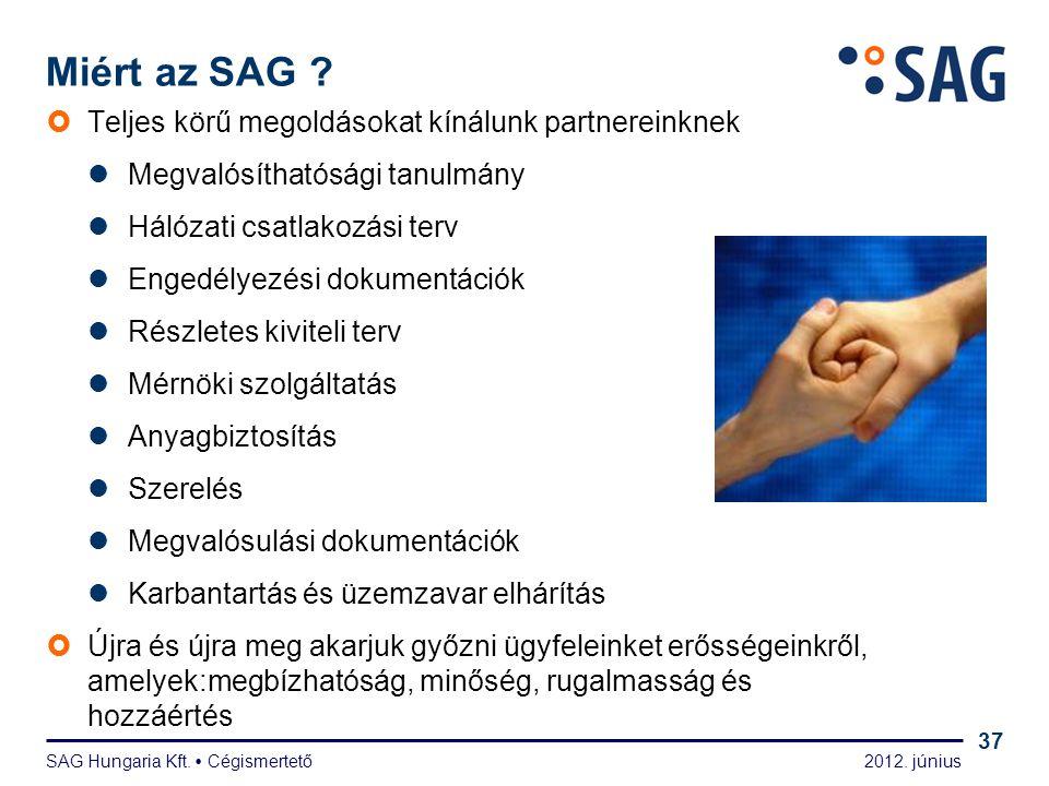 Kapcsolat www.sag-hungaria.hu sales@sag-hungaria.hu