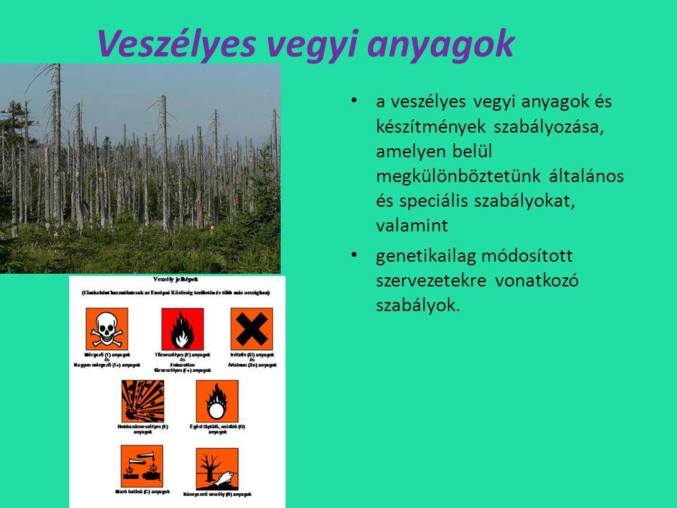 Veszélyes vegyi anyagok
