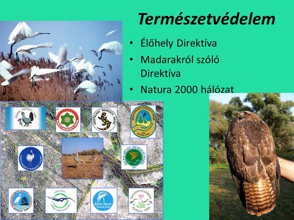 Természetvédelem Élőhely Direktíva Madarakról szóló Direktíva