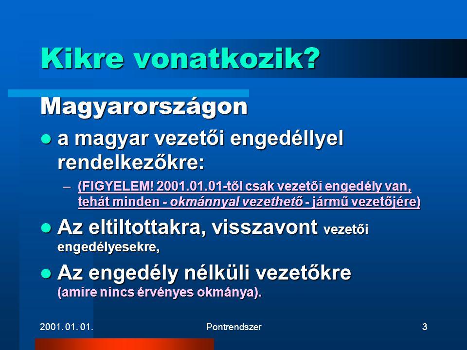 Kikre vonatkozik Magyarországon