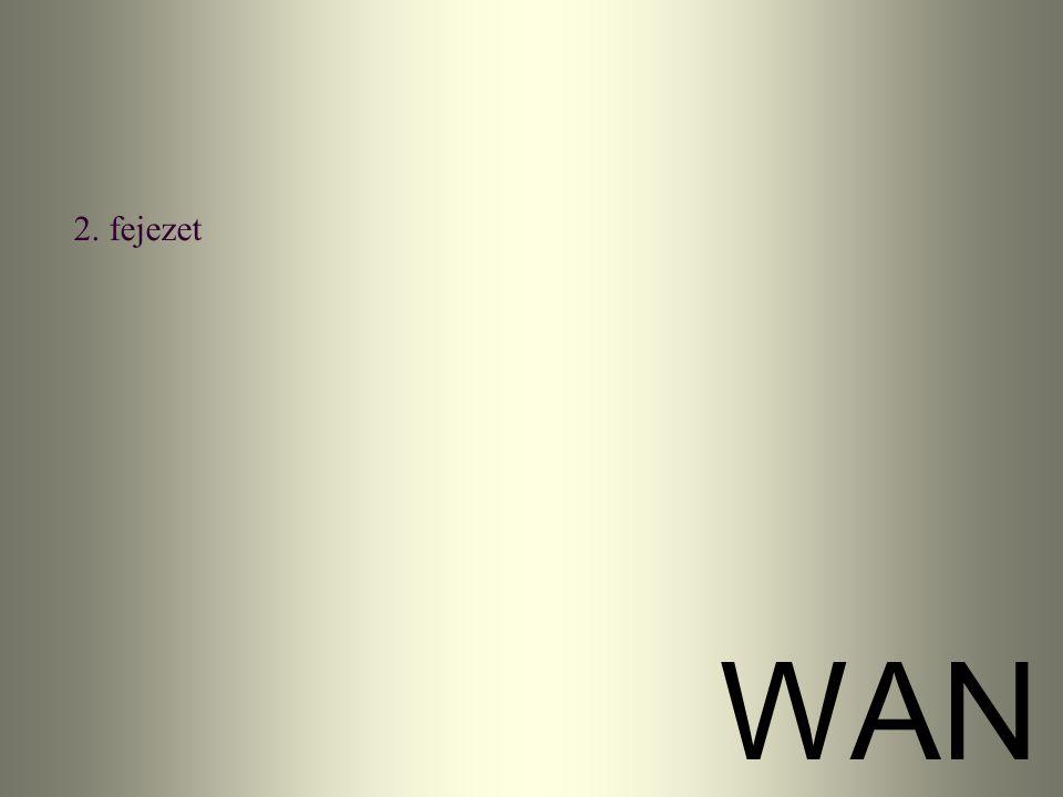 2. fejezet WAN