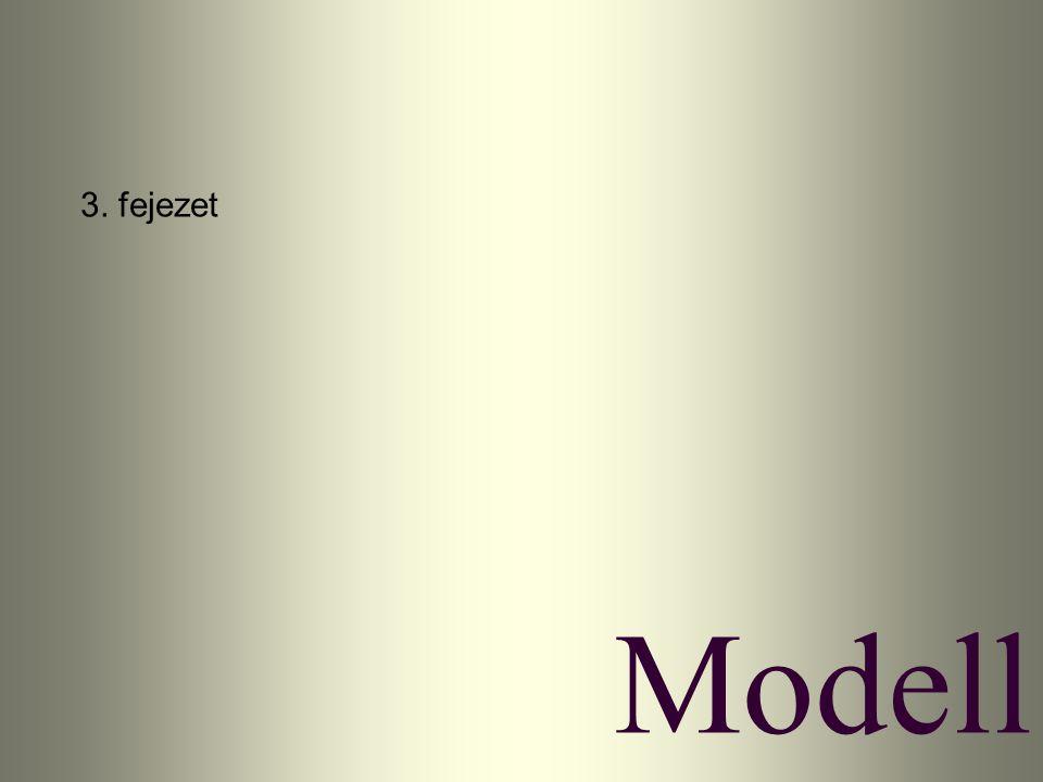 3. fejezet Modell