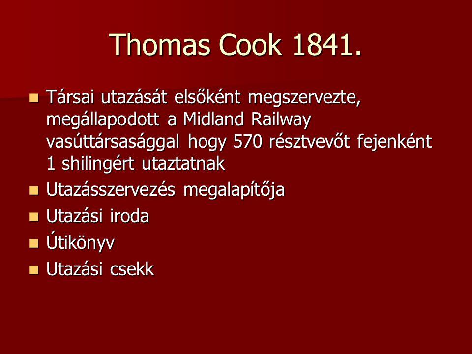 Thomas Cook 1841.